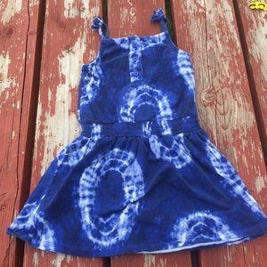 Tye Dye Toddler Dress size 4T
